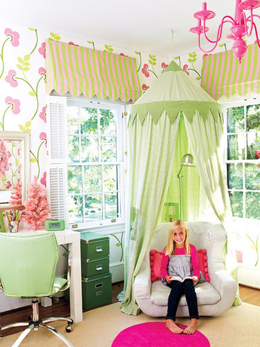 25 fun and cute kids room decorating ideas digsdigs for Kids reading corner ideas