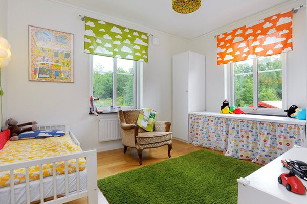 25 fun and cute kids room decorating ideas digsdigs for Kids bedroom designs
