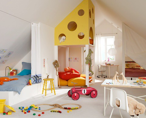 Cute Bedroom Ideas on Fun And Cute Kids Bedroom Designs 3 Jpg