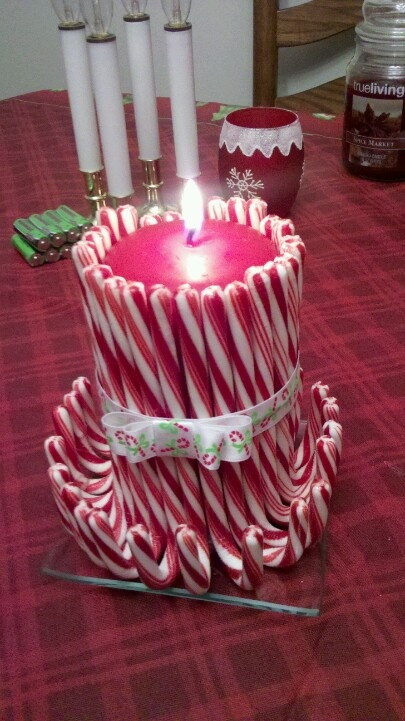Fun candy cane christmas d�cor ideas for your home