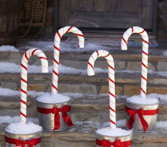 Fun Candy Cane Christmas Decor Ideas For Your Home