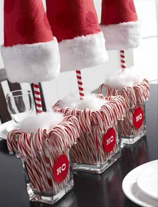 fun candy cane christmas decor ideas for your home style 70s look