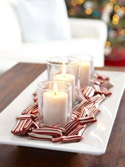 fun candy cane christmas decor ideas for your