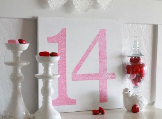 Fun Pink Valentines Day Decor Ideas