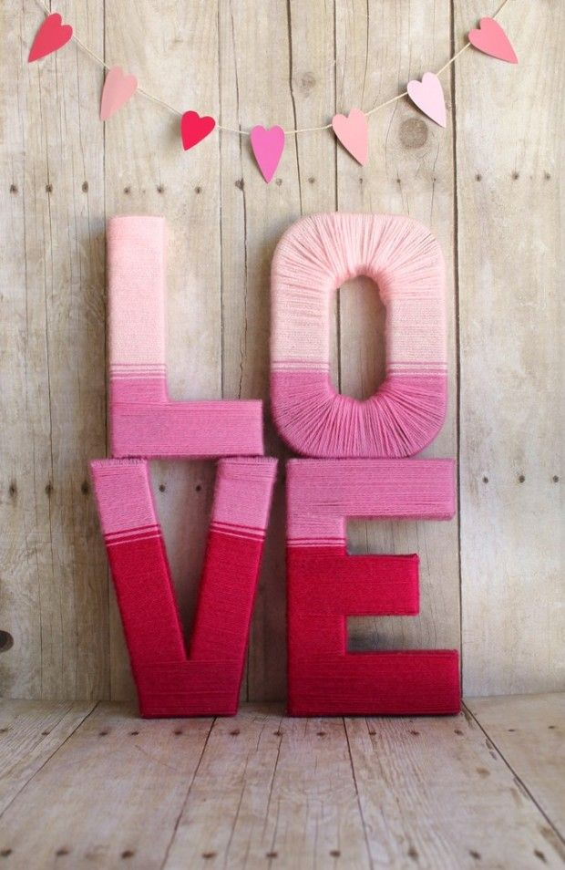 30 Fun Pink Valentine's Day Décor Ideas | DigsDigs