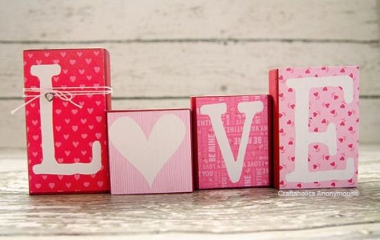 fun pink valentines day decor ideas - Valentines Day Decor