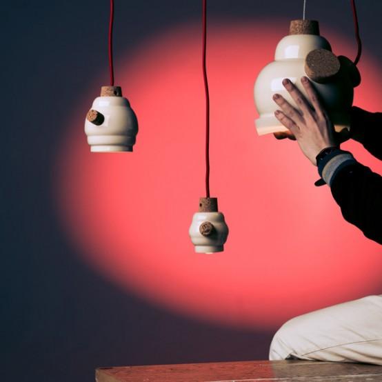 Fun Winnie Pendant Lamp To Make You Feel Positive