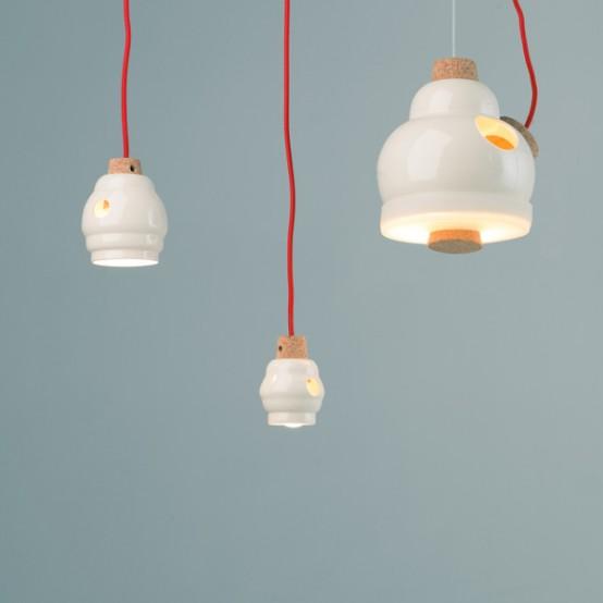 Fun Lamp fun winnie pendant lamp to make you feel positive - digsdigs