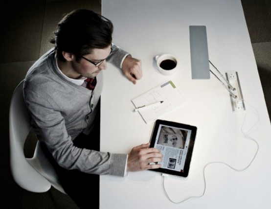 Functional And Adaptable Working Space Lamp by Byrne Electrical Specialists