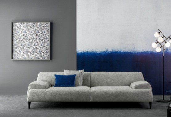 Functional And Comfy Cave Sofa With Flowing Shapes Digsdigs