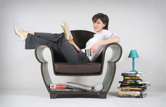 Functional And Space Saving Chair For Any Living Room