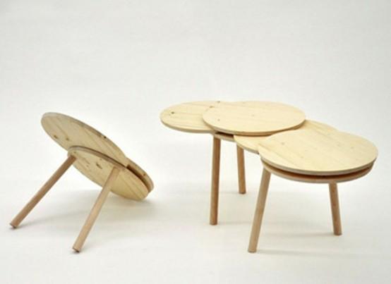 Functional And Space Saving Pillar Furniture