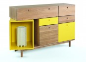 Functional And Versatile Pandora Sideboard In Vibrant Colors
