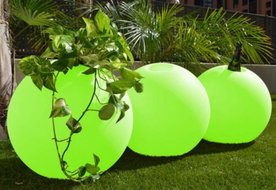 Functional Bright Planters For Your Garden