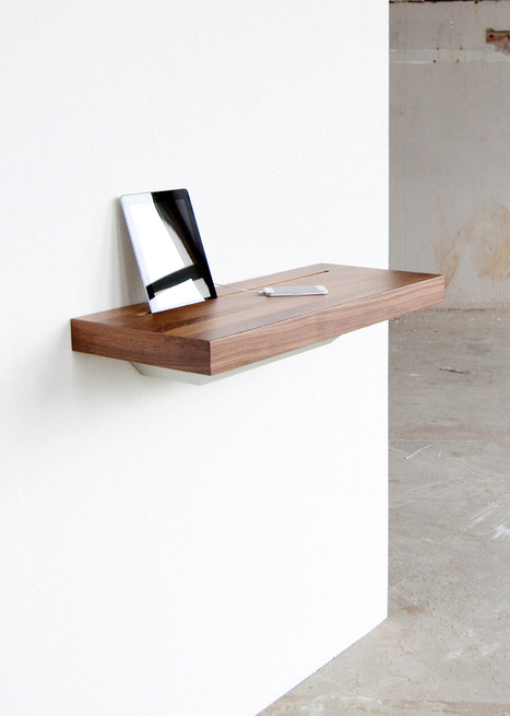 Functional Stage Interactive Shelf For Devices