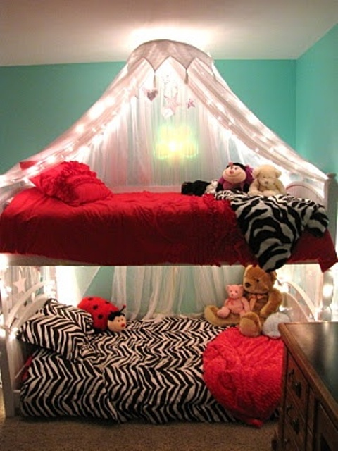 25 Functional And Stylish Kids Bunk Beds With Lights Digsdigs