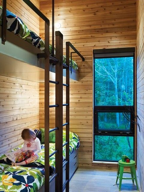 Functional Kids Bunk Beds With Lights