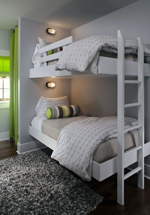 Bunk Beds Designs For Kids Rooms: 25 Functional And Stylish Kids' Bunk Beds With Lights