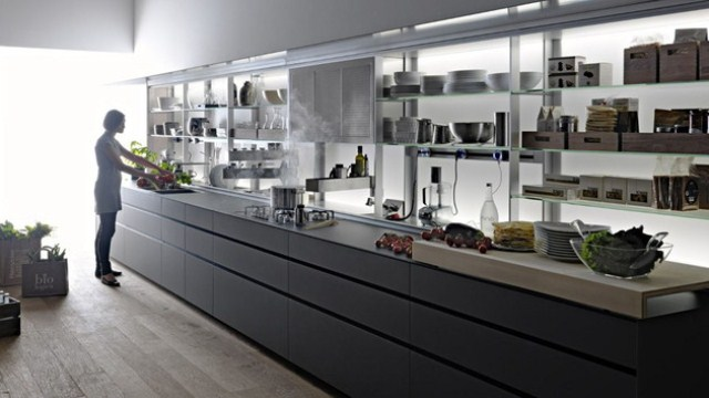 Functional Kitchen System That Can Be Easily Hidden