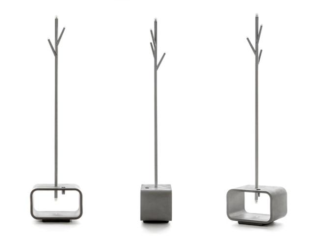 Functional Lucciola Lamp, Coat and Umbrella Stand