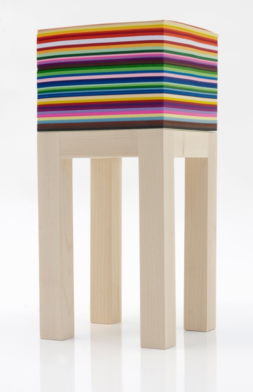 Functional Maple Table With 1800 Sheets Of Paper