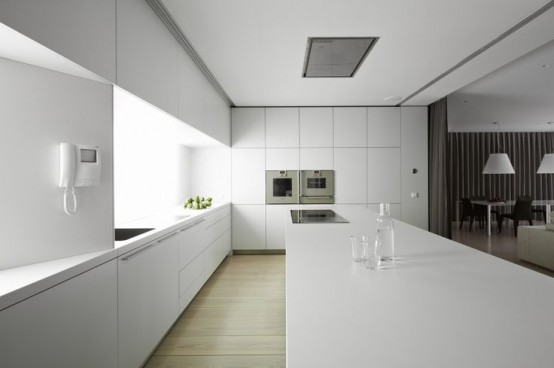 37 Functional Minimalist Kitchen Design Ideas - DigsDigs