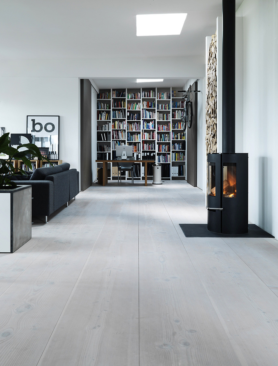 Picture Of functional scandinavian loft of a famous architect  4