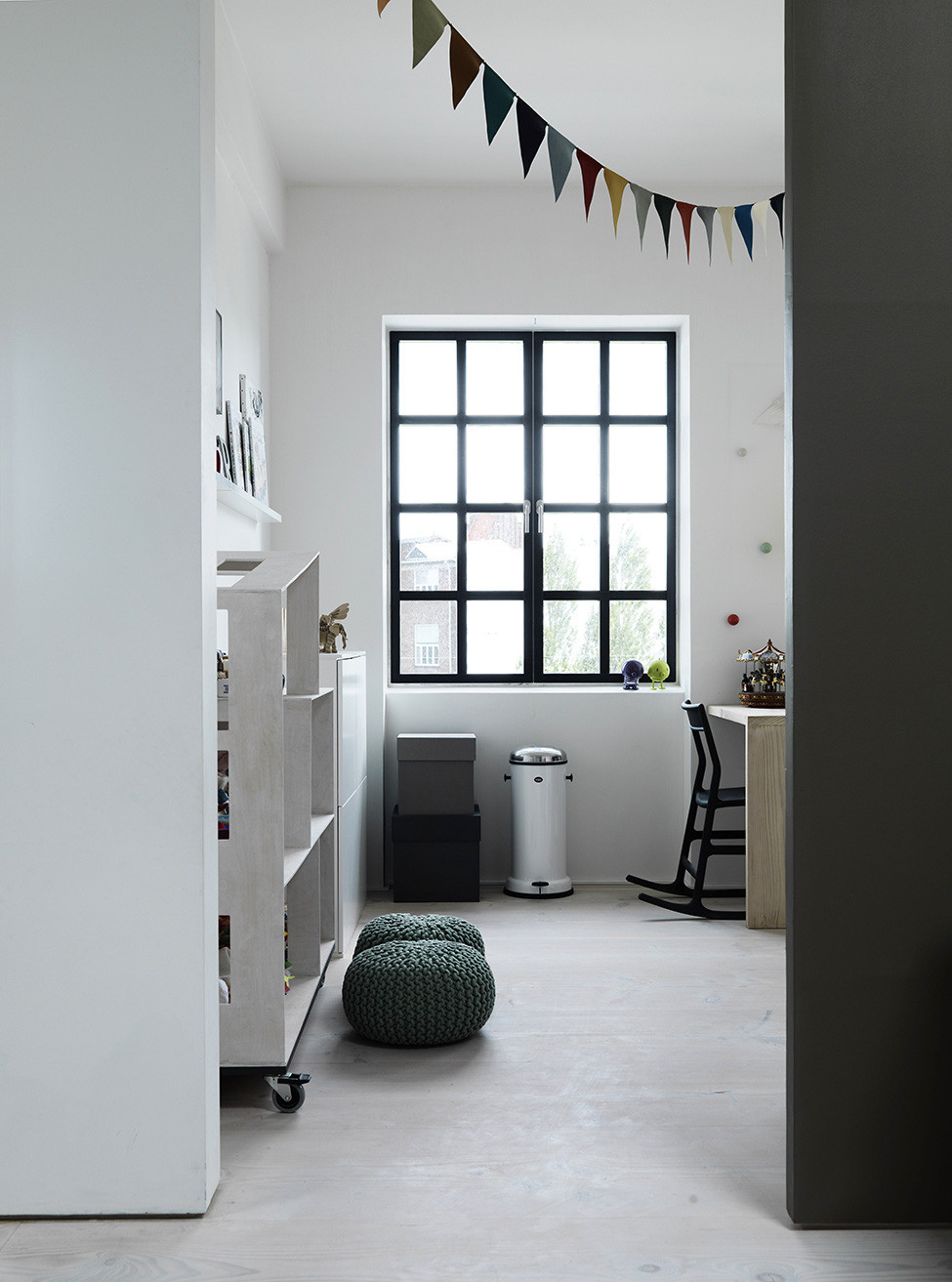 Picture Of functional scandinavian loft of a famous architect  5