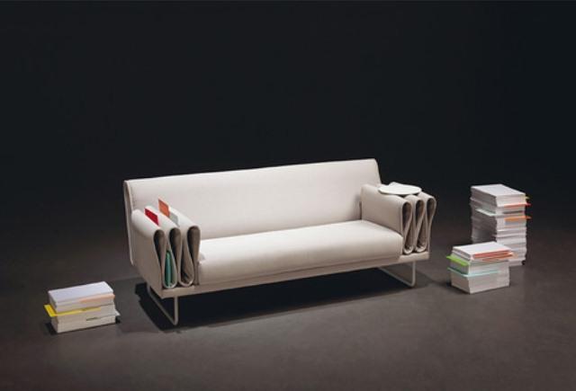 Functional Tri Folds Sofa For Hiding Items