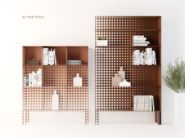 Functional And Very Creative In The Fog Shelving