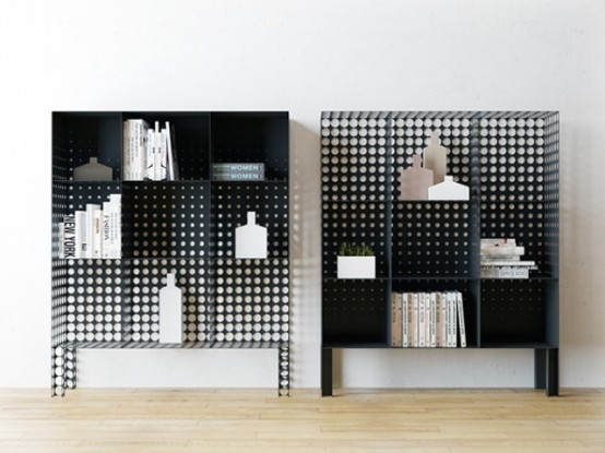 Functional Yet Very Creative In The Fog Shelving