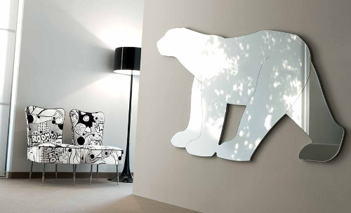 Funky Shaped Mirrors For Creating A Mood