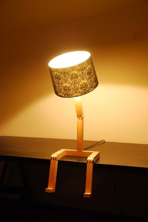 Funny Lamp Reminding Of A Person Digsdigs