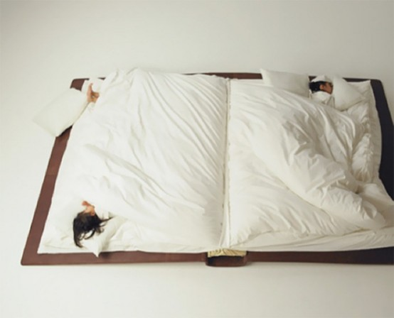 Funny Book Bed Not To Forget About Reading