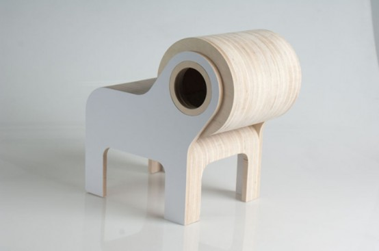 Funny Bull-Shaped Chair For Your Kid