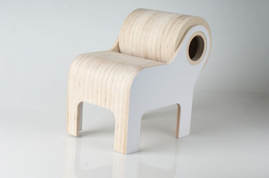 Funny Bull Shaped Chair For Your Kid