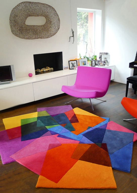 Funny Colorful Carpets Inspired By Matisse's Works