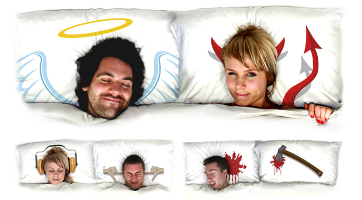 Express Yourself With Funny Pillows Digsdigs