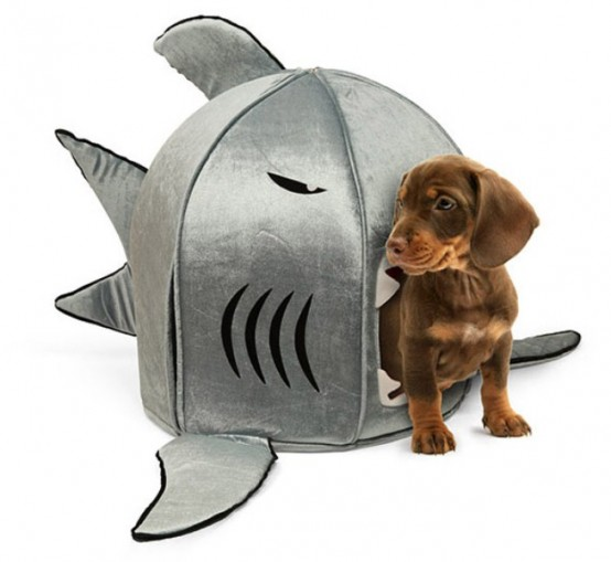 Funny Shark Pet Houses With Nanotechnologies
