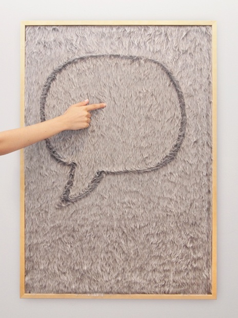 Message Board With Fur Surface – Dedo by Goncalo Campos