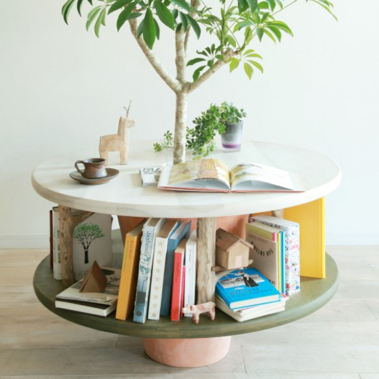 Furniture Combined With Plants
