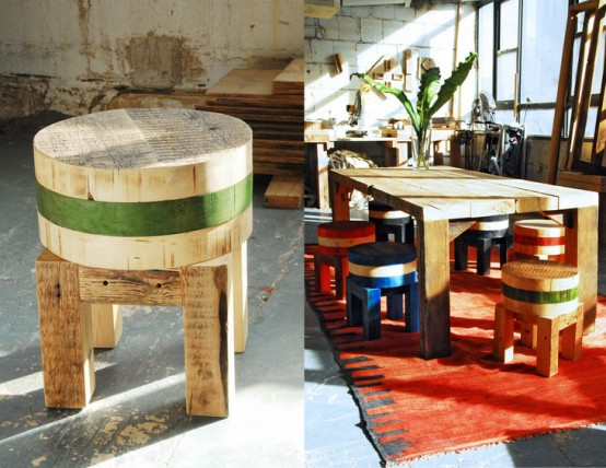 Furniture From Recycled Timber