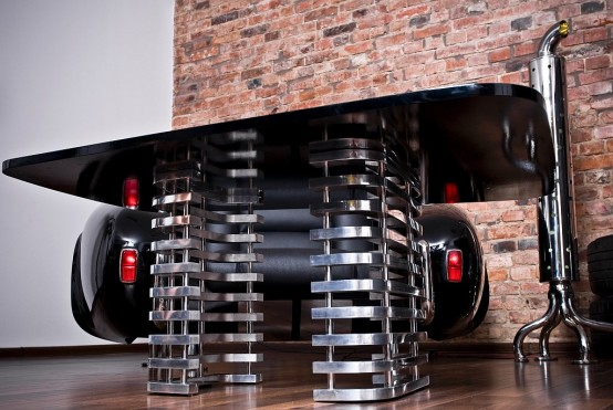 Furniture Inspired By Retro Cars