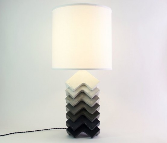 Fusion Of Industrial And Traditional Theo Table Lamp