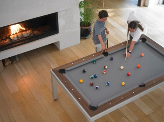 Dining And Pool Table In One