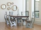 Futuristic And Ergonomic Leaf Folding Chairs