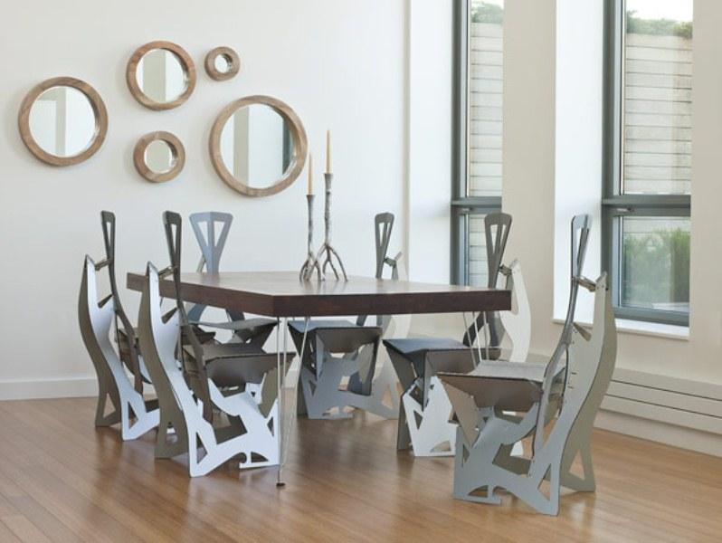 Futuristic And Ergonomic Leaf Folding Chairs Digsdigs