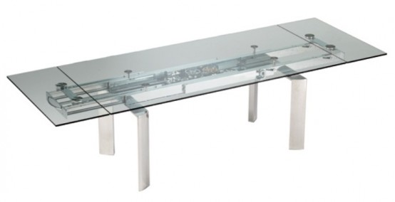 Futuristic And Industrial Table Collection With Mechanisms