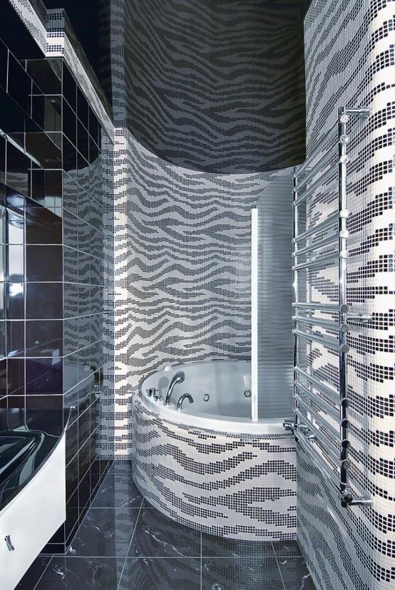 Futuristic Apartment Interior