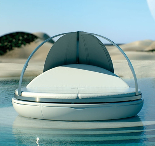 Futuristic Day Bed For Maximum Comfort